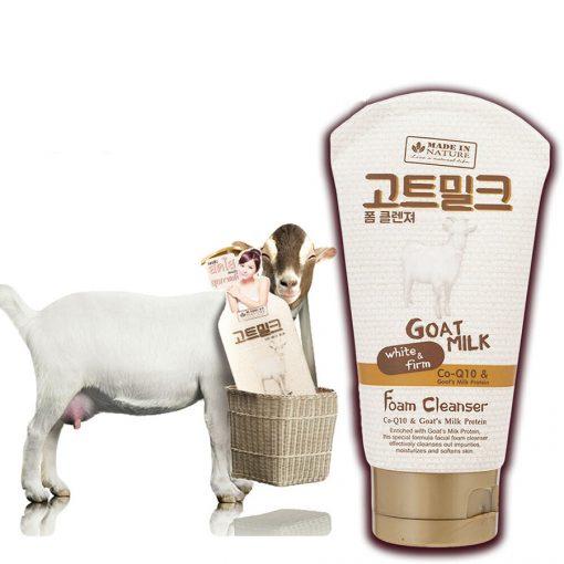 Made In Nature Goat Milk Foam Cleanser
