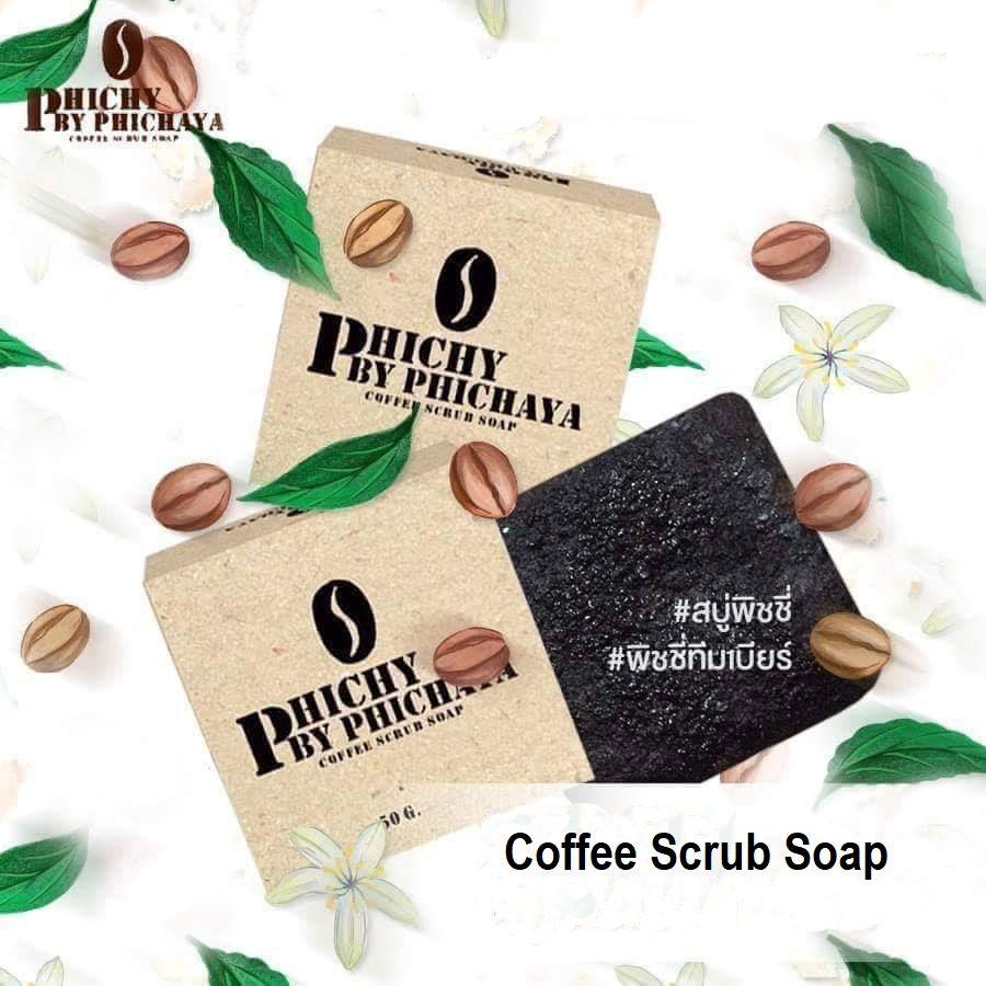 Phichy Coffee Scrub Soap