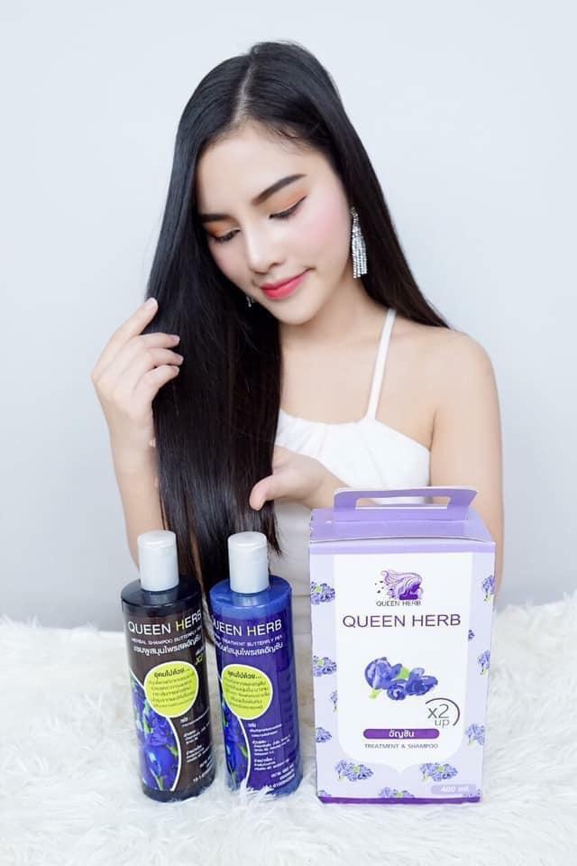 Queen Herb Shampoo & Conditioner