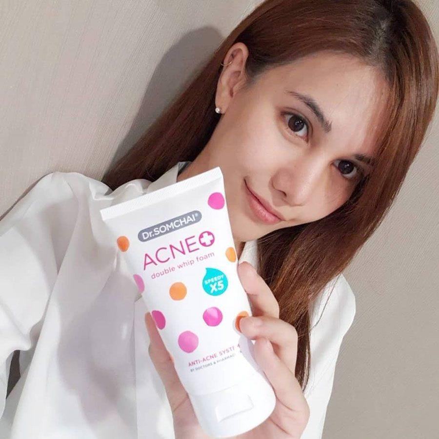 Dr.Somchai Acne Double Whip foam