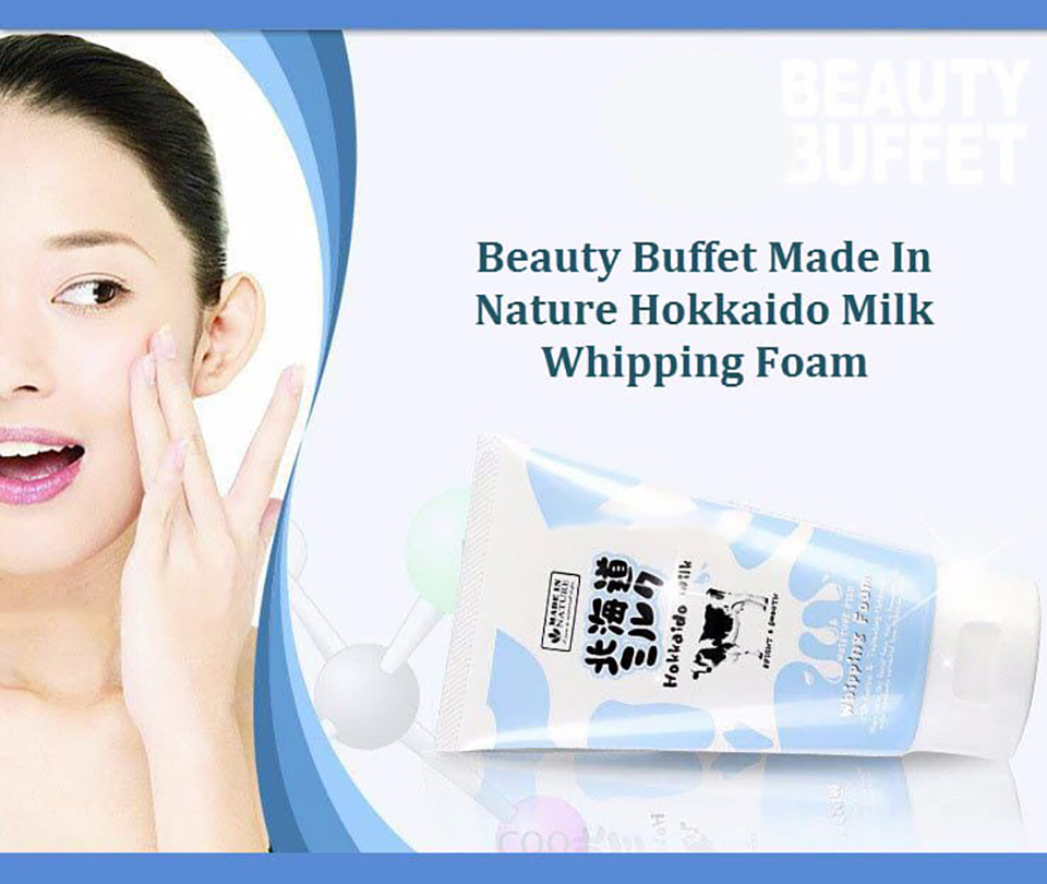 Hokkaido Milk Moisture Rich Whipping Foam
