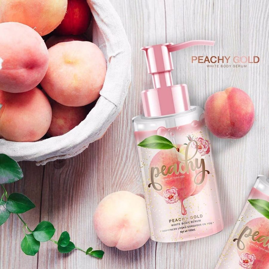 Peachy Gold White Body Serum
