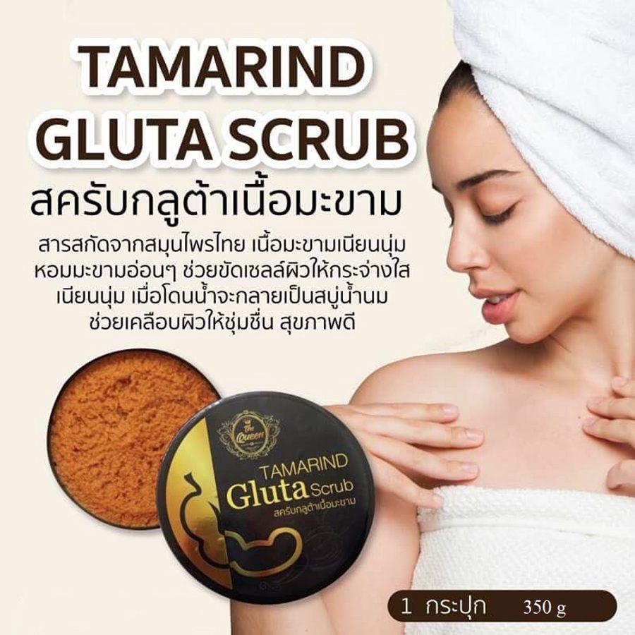 The Queen Tamarind Gluta Scrub