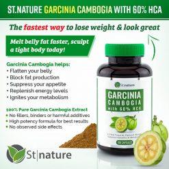 St.Nature Garcinia Cambogia Capsules